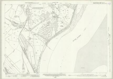 Gloucestershire LIV.15 (includes: Aust; Chepstow; Tidenham) - 25 Inch Map