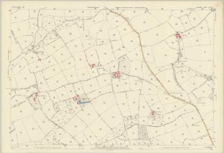 Devon LIV.12 (includes: Crediton Hamlets; Morchard Bishop; Sandford) - 25 Inch Map