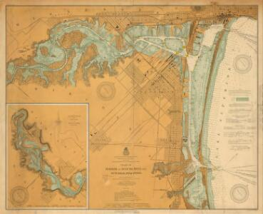 Chart of harbor at Duluth, Minn. and Superior, Wisconsin / prepared under the direction of Major W.L. Fisk, Corps of Engineers, U.S. Army, in 1902-1905.