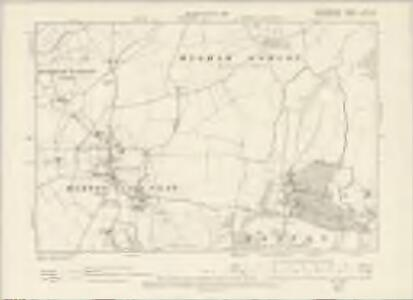 Hertfordshire VI.SW - OS Six-Inch Map