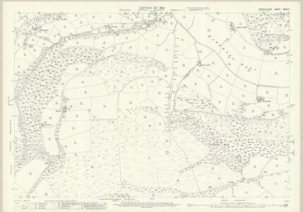 Denbighshire XXXIX.3 (includes: Glyntraean; Llangollen Rural; Llangollen Urban) - 25 Inch Map