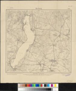 Meßtischblatt 2047 : Herzberg, 1911