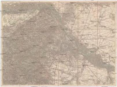 Umgebungs-Karte von Wien