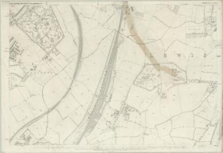 London (First Editions c1850s) LXXVIII (includes: Camberwell; Deptford St Paul; Lewisham) - 25 Inch Map