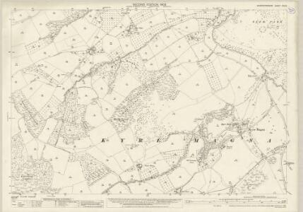 Worcestershire XIX.14 (includes: Bockleton; Kyre; Stoke Bliss; Tenbury) - 25 Inch Map