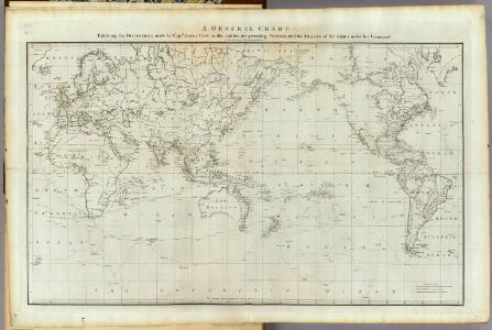 General chart Cook voyages.