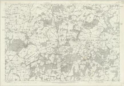 Sussex XXVI - OS Six-Inch Map