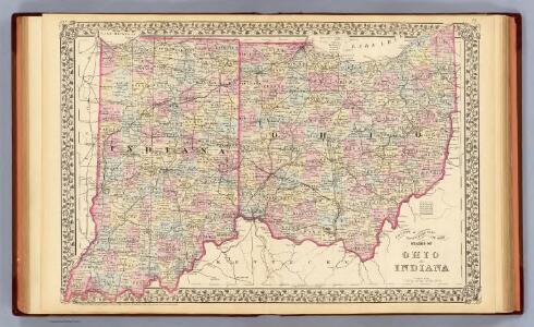 Ohio, Indiana.