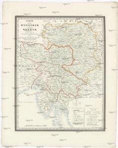 Carte du royaume d'Illirie et du duché de Styrie