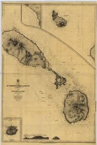 SAINT KITTS, Leeward Islands Island (1864).