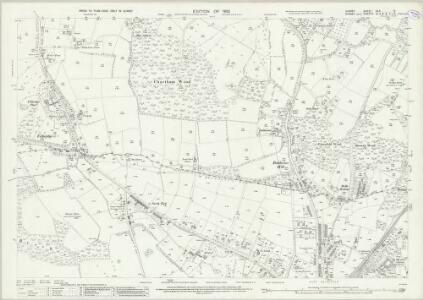 Surrey XLII.12 (includes: East Grinstead; Lingfield; Tandridge) - 25 Inch Map