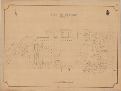 City of Sydney, Section E, 1885