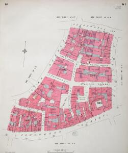 Insurance Plan of City of London Vol. III: sheet 61