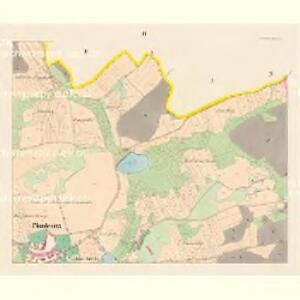 Chudenitz (Chudenice) - c2669-1-003 - Kaiserpflichtexemplar der Landkarten des stabilen Katasters