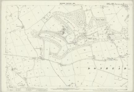 Dorset IV.15 (includes: Cann; Donhead St Mary; Shaftesbury) - 25 Inch Map