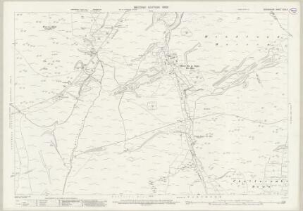 Devon XCIX.8 (includes: Chagford; Lydford; Manaton; North Bovey) - 25 Inch Map