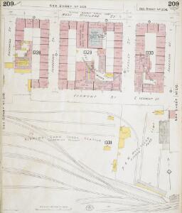 Insurance Plan of Glasgow Vol. V: sheet 209