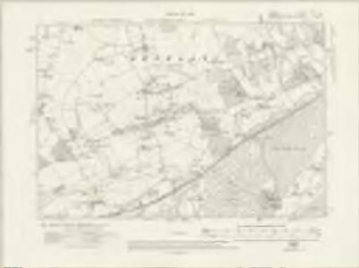 Surrey XXIX.SE - OS Six-Inch Map