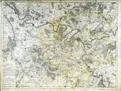 Carte de la prevosté et vicomté de Paris