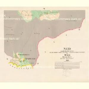 Neid - c9164-2-005 - Kaiserpflichtexemplar der Landkarten des stabilen Katasters