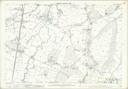 Kent LXII.13 (includes: Goudhurst; Horsmonden) - 25 Inch Map