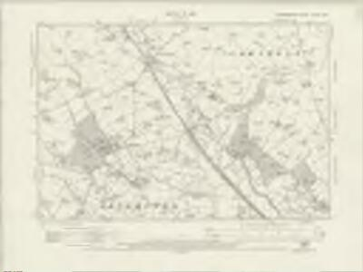 Staffordshire XXXVII.NW - OS Six-Inch Map
