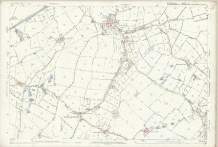 Shropshire X.1 (includes: Maer; Woore) - 25 Inch Map