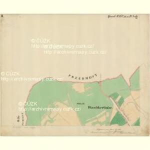 Prerau (Přerow) - m2453-1-008 - Kaiserpflichtexemplar der Landkarten des stabilen Katasters
