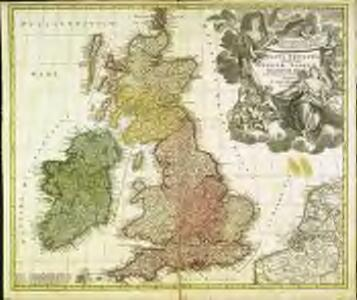 Magna Britannia complectens Angliæ, Scotiæ et Hiberniæ regna