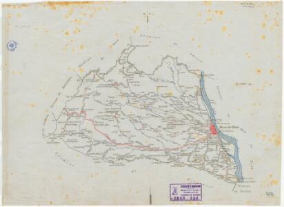 Mapa planimètric de Móra d'Ebre