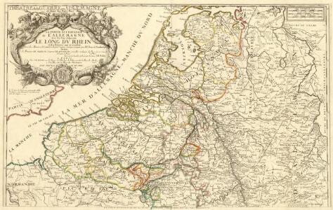 Theatre de la Guerre en Allemagne et dans les Pays Bas.