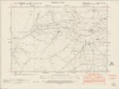 Denbighshire XXXI.NW - OS Six-Inch Map