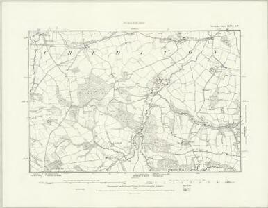 Devonshire LXVI.NE - OS Six-Inch Map