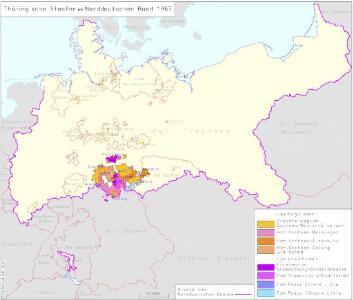 Thüringische Staaten im Norddeutschen Bund 1867