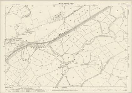 Kent XXXVI.7 (includes: Chislet; Stourmouth; Wickhambreux) - 25 Inch Map