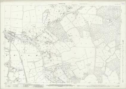 Surrey XXXIX.11 (includes: Cranleigh) - 25 Inch Map