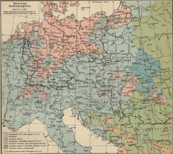 Mitteleuropa: Konfessionsgebiete