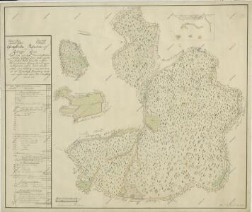 Geometrický plán radonického polesí s připojeným dílem lesa z kosteleckého polesí