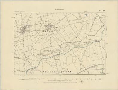 Leicestershire L.SW - OS Six-Inch Map
