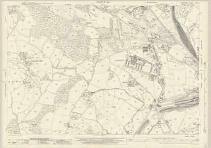 Glamorgan XLVII.6 (includes: Cardiff; Lecwith; Michaelston Le Pit; Penarth; St and rews Major) - 25 Inch Map
