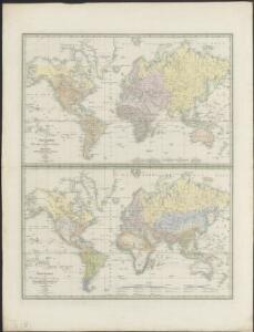 Weltkarte zur Uebersicht der vorzügluchsten Varietaeten des Menschen, nach Blumenbach'schen Systeme