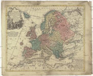 Europa delineata juxta observationes excellorum virorum Academiae Regalis Scientiarum et nonnullor aliorum et juxta recentissimas annotationes