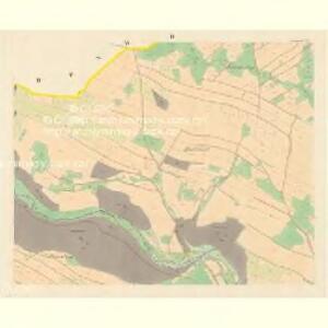Domstadt (Domassow) - m0557-1-002 - Kaiserpflichtexemplar der Landkarten des stabilen Katasters