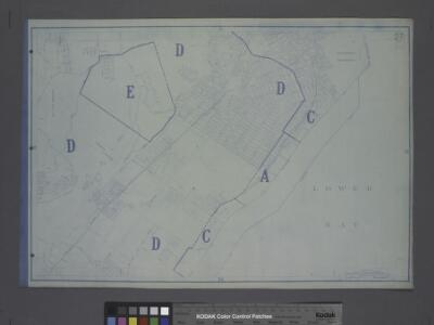 Area District Map Section No. 27; Area district map / City of New York, Board of Estimate and Apportionment.