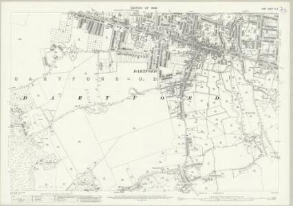 Kent IX.6 (includes: Dartford; Wilmington) - 25 Inch Map