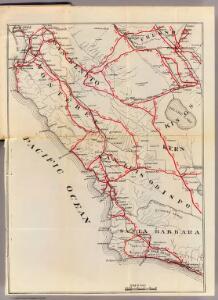 San Benito, Fresno, Monterey, San Luis Obispo, Kings, Kern, and Santa Barbara Counties.