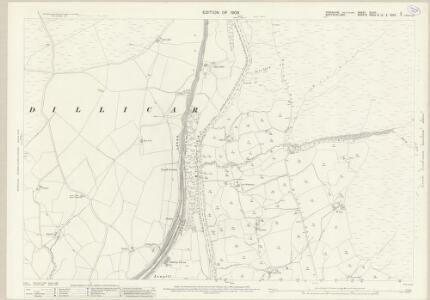 Yorkshire XLVIII.2 (includes: Dillicar; Sedbergh) - 25 Inch Map