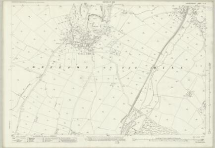 Leicestershire IX.15 (includes: Breedon on the Hill; Isley cum Langley; Staunton Harold; Worthington) - 25 Inch Map