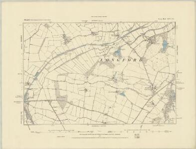 Shropshire XXIX.NE - OS Six-Inch Map