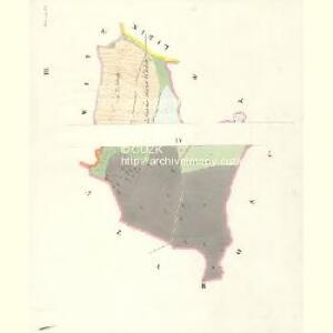 Wlkowitz - c8708-1-003 - Kaiserpflichtexemplar der Landkarten des stabilen Katasters